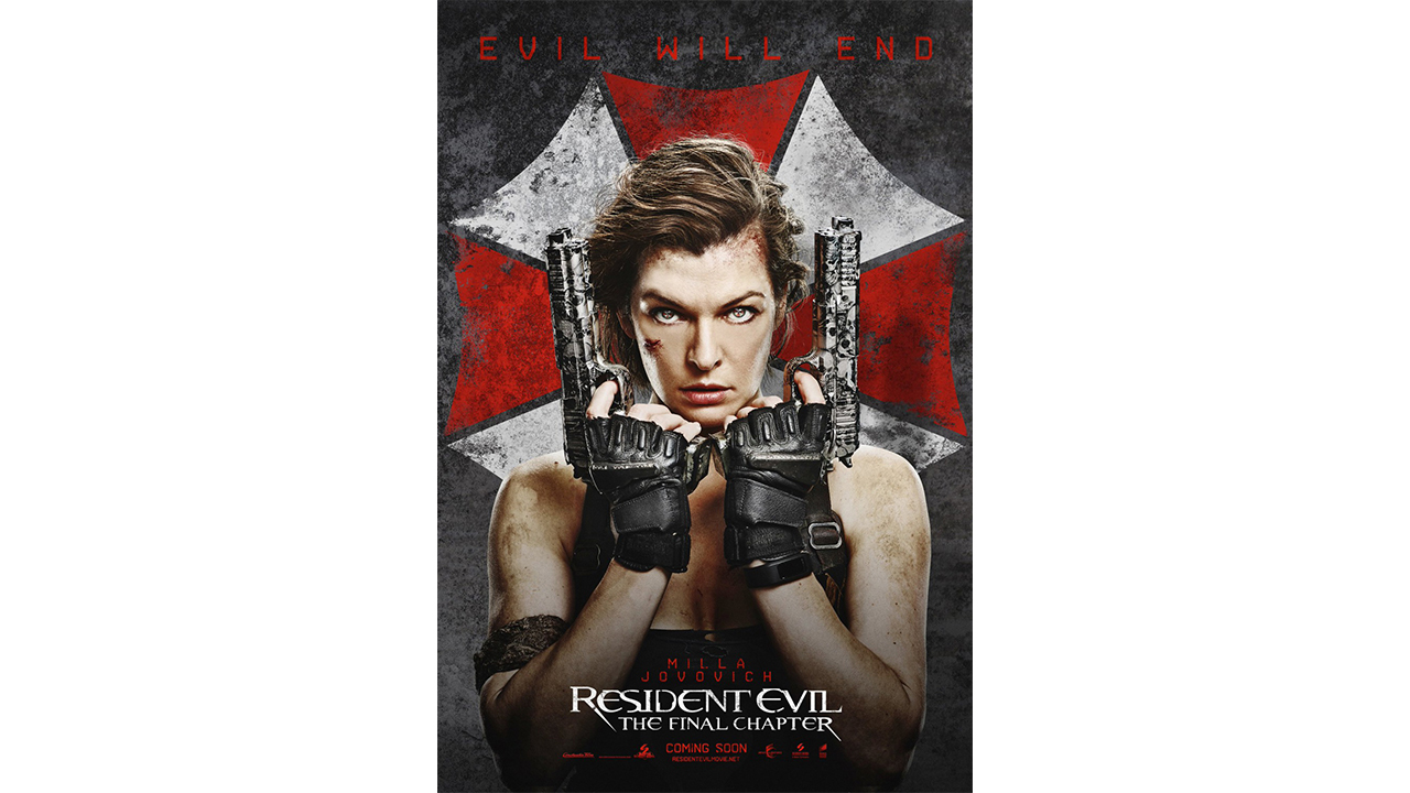 Ticket price for film a 'resident evil'