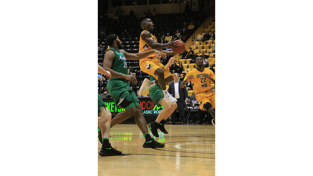 USM snaps losing-streak against Marshall, 91-76
