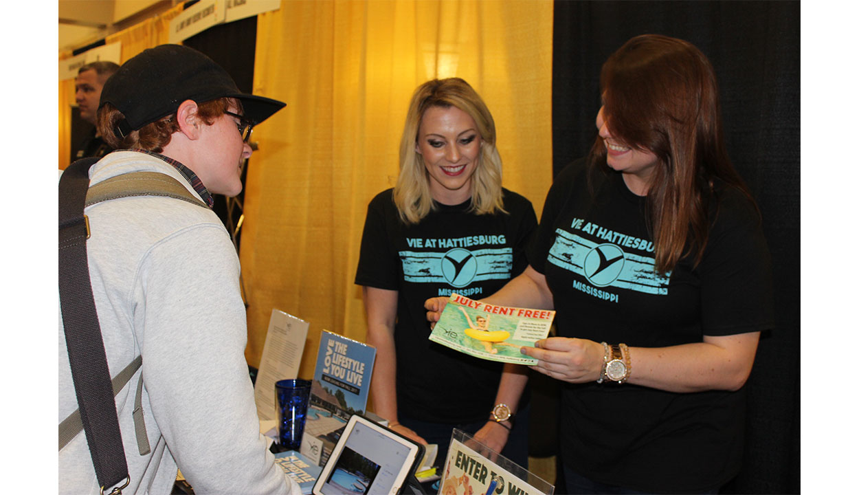 Students, employers network at Career Fair