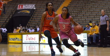 Lady Eagles rout UTEP in 73-48 win
