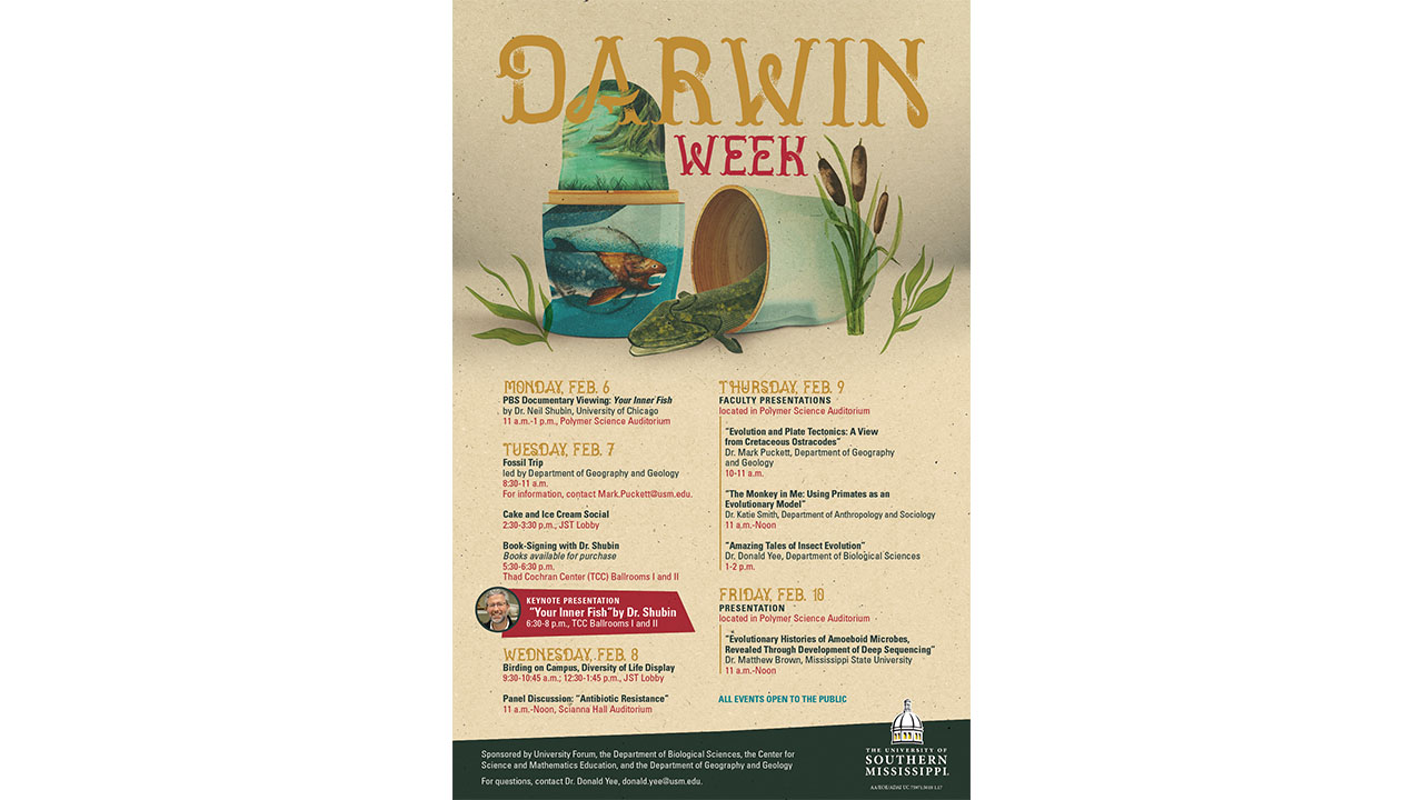 Biological science dept. hosts first Darwin Week