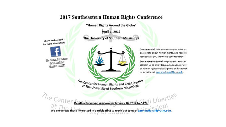 Usm rights group to host events
