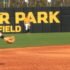 The Southern Miss defense prepares for a play at Pete Taylor Park against the Northeastern Huskies on Feb. 19.
