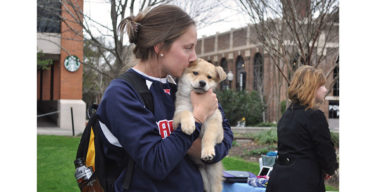 SPAS brings 'Puppy Love' on campus