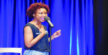 Poet pair lead Spoken Word Night in Thad