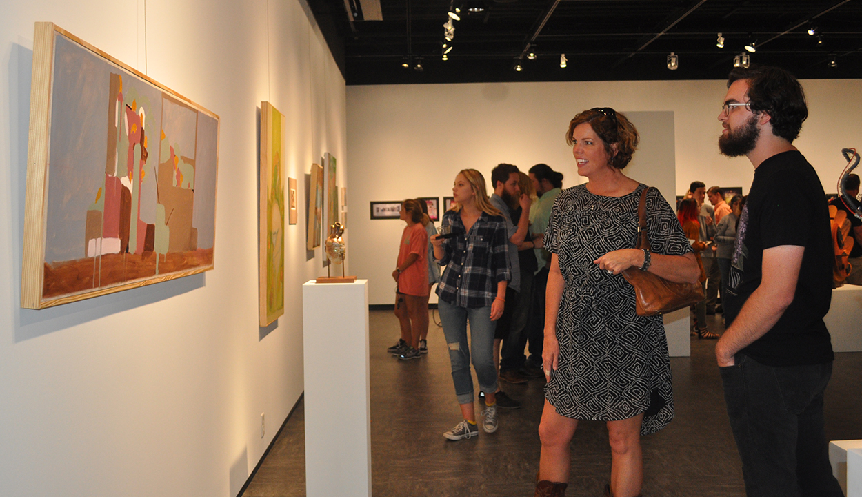 Art and design showcase illustrates student talent