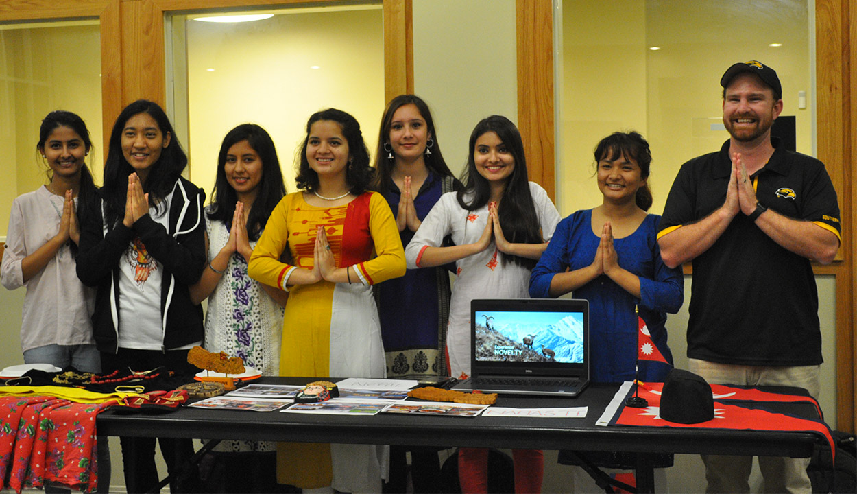 Honors College hosts international fair