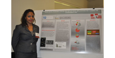 Students present research findings at graduate symposium