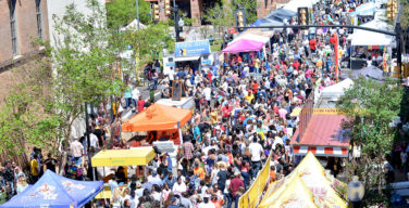 Crowds amass downtown for Hubfest 2017
