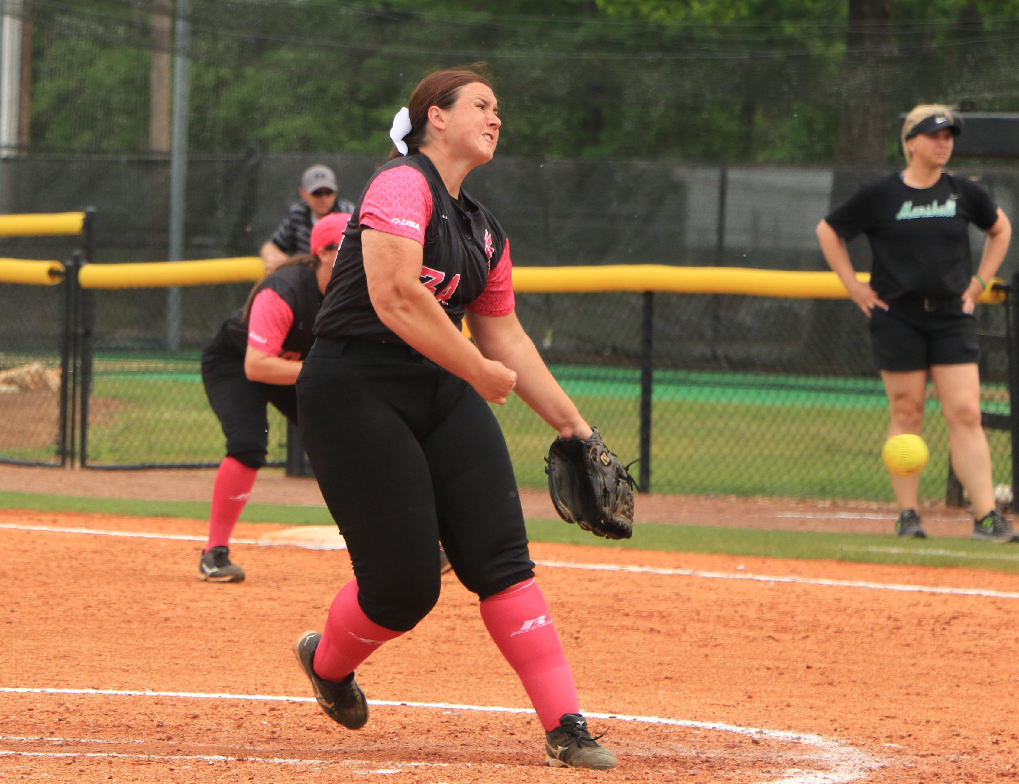 Lady Eagles lose rematch to South Alabama, 4-3