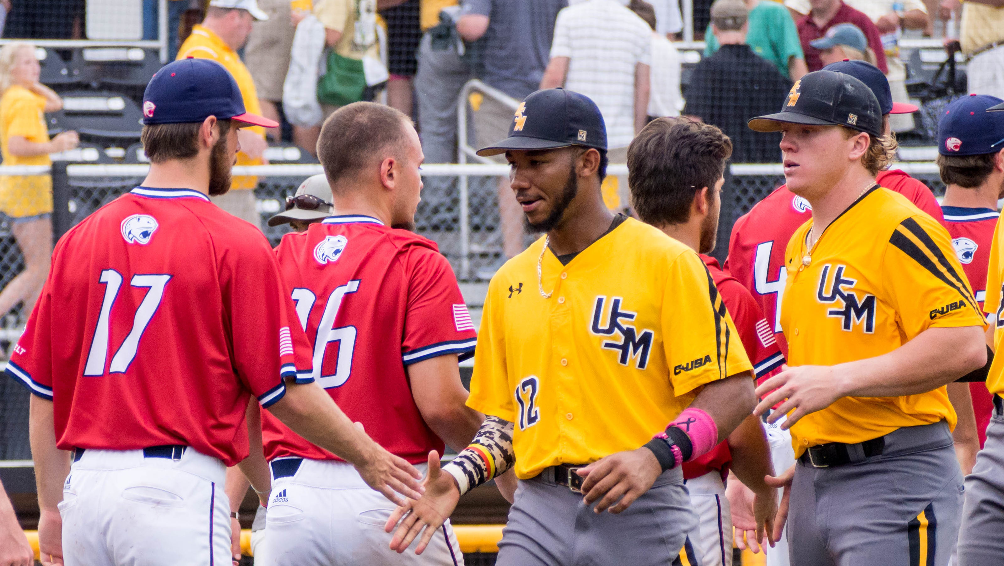 Southern Miss reaches regional final with 8-3 win over South Alabama