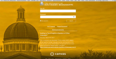 Canvas replaces Blackboard as online learning system