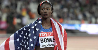 Tori Bowie wins first individual gold medal at world championship