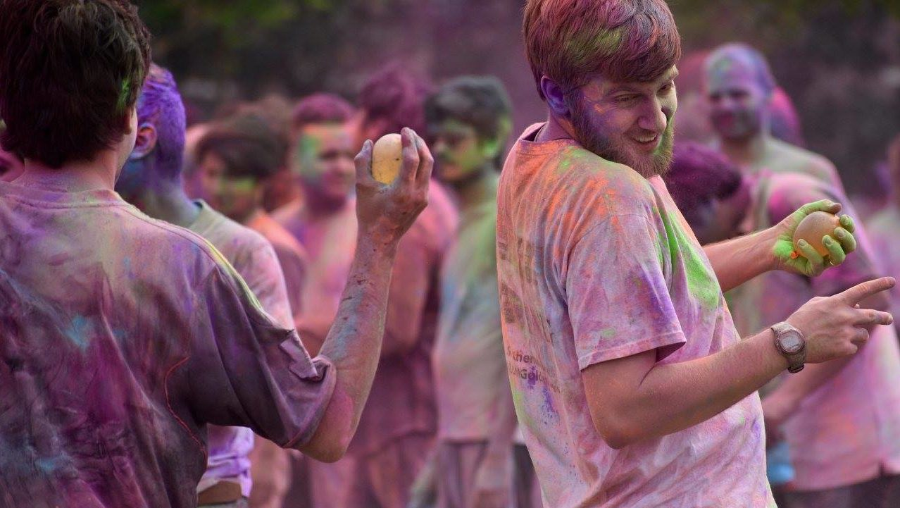 International Student and Scholar Services sponsor Holi Festival: Gallery