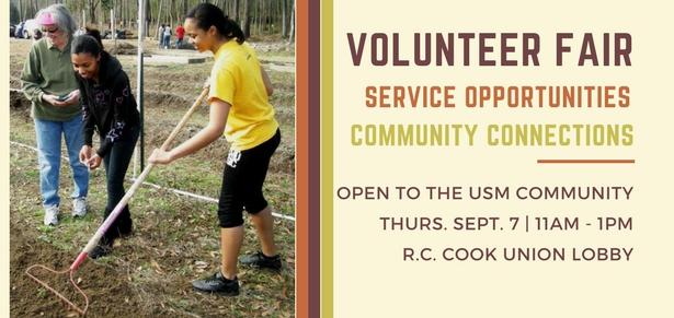 Center for Community Engagement emphasizes volunteer importance