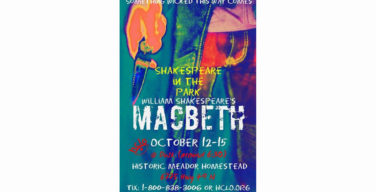 HCLO presents first Shakespeare in the Park
