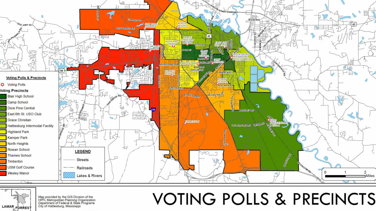 Low voter turnout in elections affects Hattiesburg