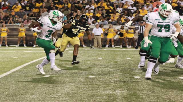 Southern Miss falls to 2-2 after losing to North Texas, 43-28