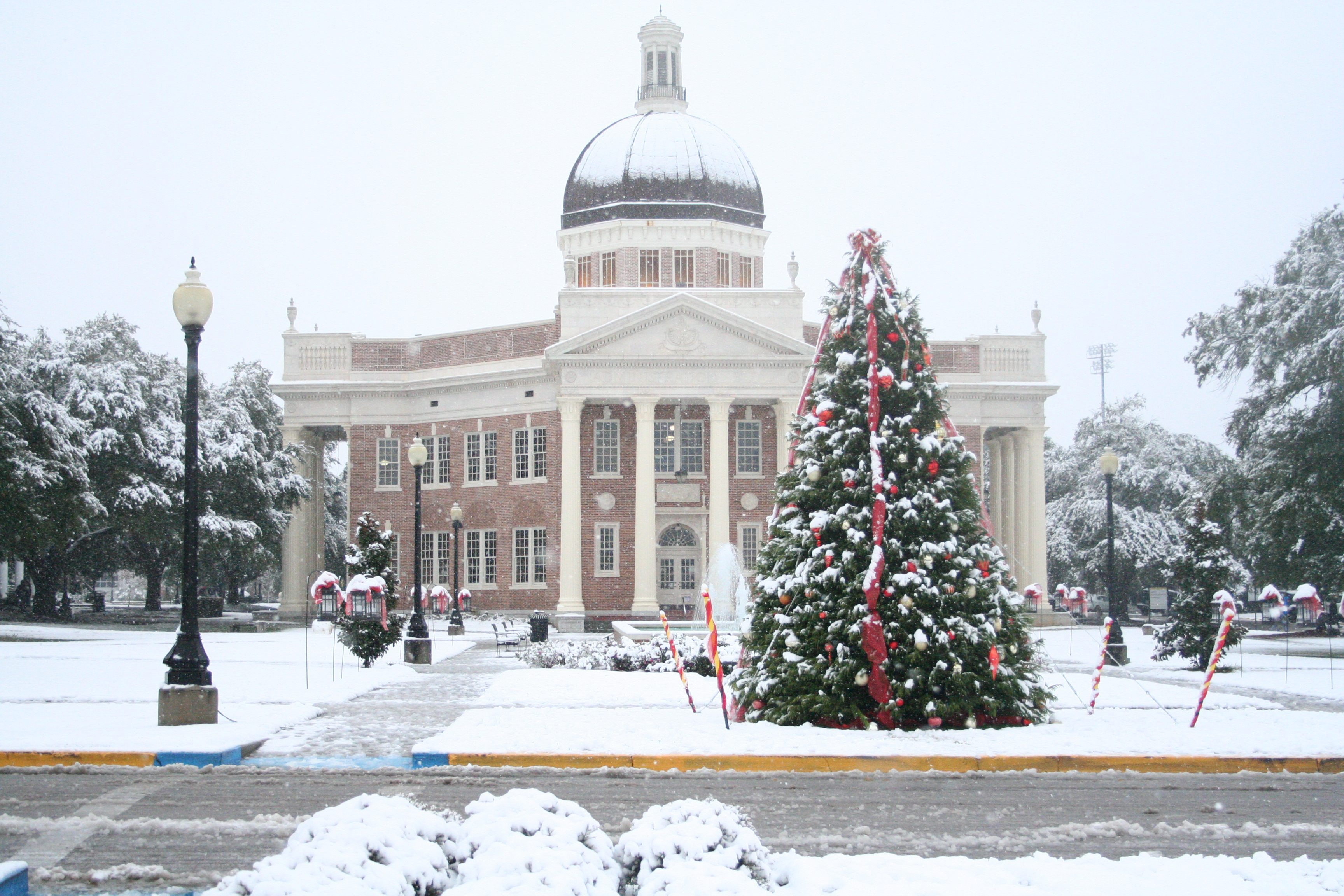 Southern Miss Snow Day Photo Gallery 2017