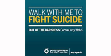 Out of the darkness walk promotes suicide awareness