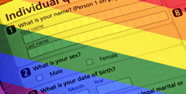 LGBTQ not included in 2020 US census
