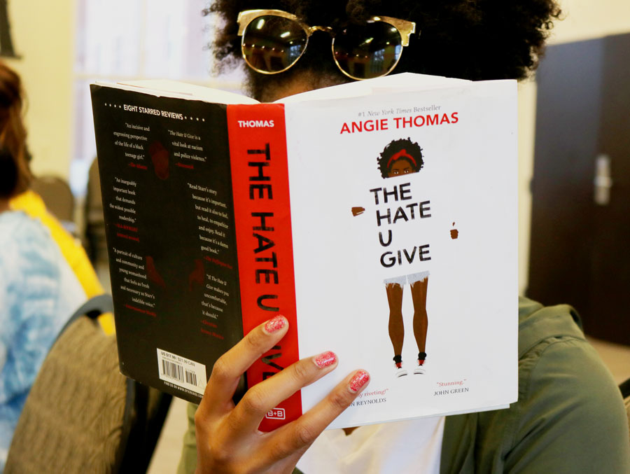 Southern Miss students discuss 'The Hate U Give'