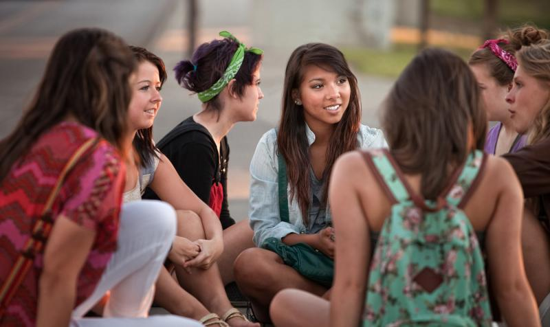 New Student Organization Mentors Young Girls