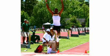 Track and field competes at Warkhawk Classic