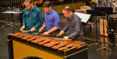 The Percussion Studio holds annual concert