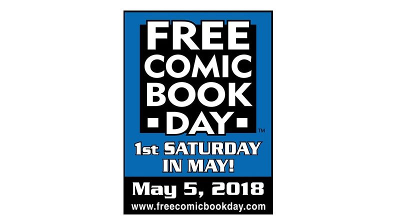 Free Comic Book Day this Saturday, May 5.